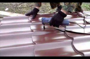 Чем можно резать листы металлочерепицы?