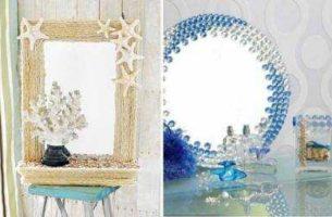 Декор зеркала своими руками: материалы, техники
