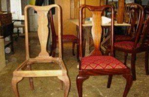 Самостоятельная перетяжка стульев и кресел