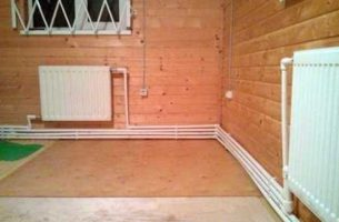 Отопление деревянного дома