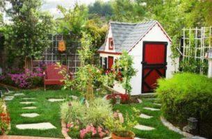 Как обустроить свой маленький участок земли