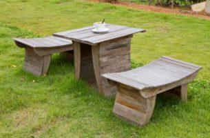 Садовая мебель своими руками: 5 интересных идей