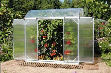 Как построить теплицу в своем саду