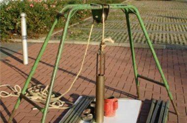 Бурение скважины на садовом участке
