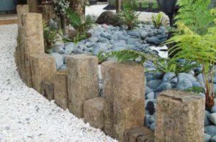 Виды бордюров для садовых дорожек