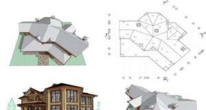 Примеры конструкций сложных крыш