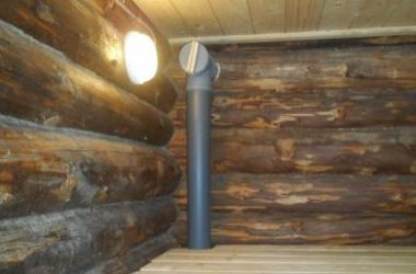 Насколько эффективна пластиковая вентиляция в бане