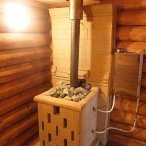 Как вывести трубу в бане внешняя и внутренняя конструкция