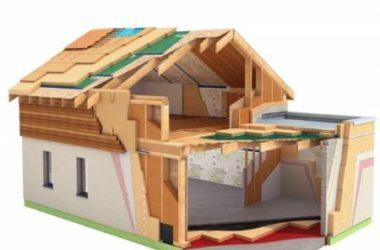 Утепление стен деревянного и кирпичного дома