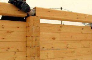 Как правильно сделать стены в бане