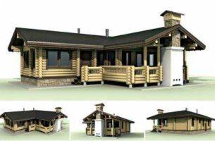 Строительство бани: примеры готовых проектов