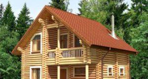 Проекты и монтаж дома-бани из бревна