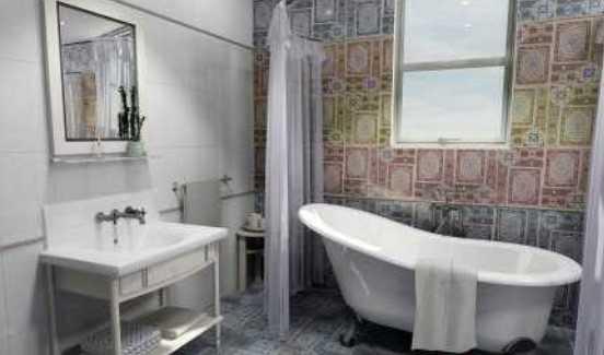 Важные моменты при выборе напольной керамической плитки в ванной комнате